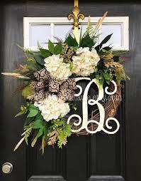 Modern Front Door Decor by Front Door Wreath Home Interior Design