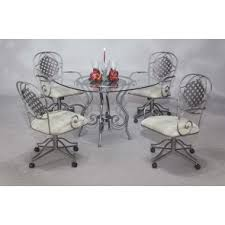 chromcraft table and chairs chromcraft furniture 5 piece dining set t130 488 table with c318
