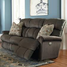 lazy boy easton sofa power recline xrw full reclining sofa by la z boy wolf and