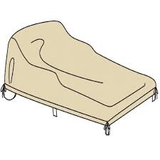 Double Chaise Lounge Cover Woodard Whitecraft Replacement Cushions Outdoor Protective