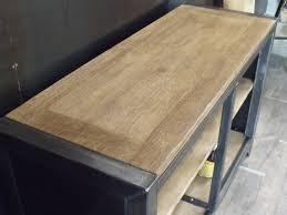 meuble cuisine industriel meuble de rangement cuisine bois métal sur mesure micheli design