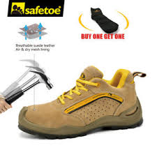 yellow boots s shoes safetoe safety shoes mens work boots steel toe yellow leather