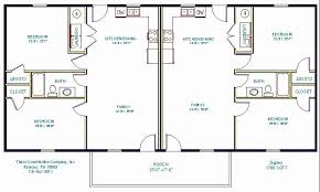 multi family house plans multi family house plans triplex lovely first floor plan of ranch
