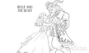 u201cbonjour u201d beauty beast coloring pages d23