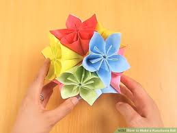 cara membuat origami kusudama how to make a kusudama ball 12 steps with pictures wikihow