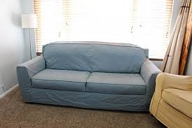How To Make A Slipcover For A Couch How To Make A Sofa Slipcover Twofeetfirst