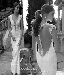 backless lace wedding dresses amazing backless lace wedding dresses mermaid v neck appique
