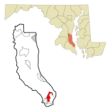 Md Map Lusby Maryland Wikipedia