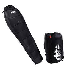 sleeping accessories camping thermal sleeping bag black u2013 hobby hunters