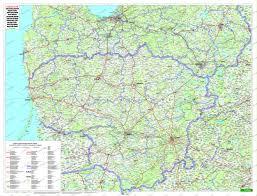 Baltic States Map Estonia Latvia Lithuania Wall Map Easteurope Countries Europe