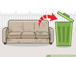 4 ways to remove mildew from fabric wikihow