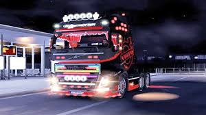 volvo trucks europe volvo fh mega tuning ets2 euro truck simulator 2 youtube