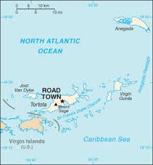 map of bvi and usvi the world factbook central intelligence agency
