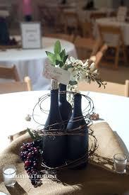 baby bottle centerpieces centerpieces with bottles fabulous wine bottle wedding