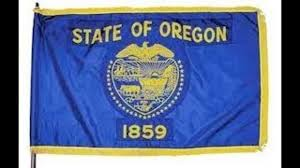 Back Of Oregon State Flag Brown Orders Flags To Half Staff In Honor Of Fla Shooting Victims