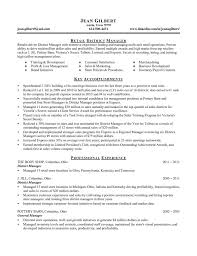 district manager retail cover letter resume sample fre saneme