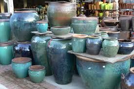 Outdoor Large Vases And Urns Glazed Pottery Inspiration Http Sperlingnursery Com Wp Content