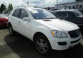 2006 mercedes ml350 4matic export salvage 2006 mercedes ml350 4matic white on beige