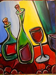 paintings to paint wobbly wine2 jpg