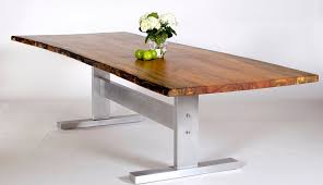 trestle base dining table sycamore dining tables david stine furniture custom furniture