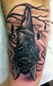55 halloween tattoo designs halloween tattoo bat tattoos and bats