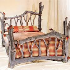 Tree Bed Frame On New And Diy Bed Frame Driftwood Bed Frame Home Interior