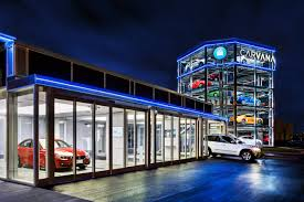 Car Dealer Floor Plan Financing by Carvana Opens World U0027s First Fully Automated Coin Operated Car