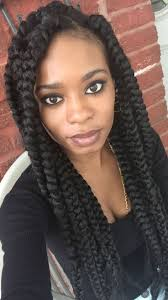 French Braid Hairstyles With Weave Best 25 Jumbo Box Braids Ideas On Pinterest Boîte Jumbo De