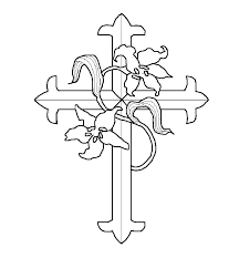 free printable cross coloring pages cross coloring pages printable