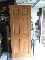 Wickes Patio Doors Upvc by 3x Wickes 6 Panel Internal Clear Pine Doors 2 Std 1 Bi Fold