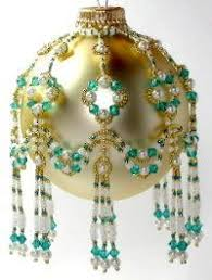free beaded ornaments patterns free beaded