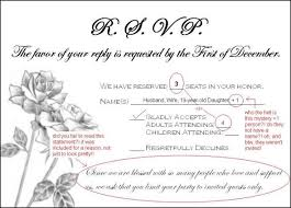 wedding invitations rsvp wording need wording help addressing guests who rsvp d for