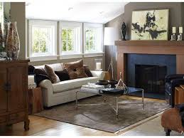 Living Room Recessed Lighting Stupendous Fireplace Surround By Windows Cottage Living Room Table
