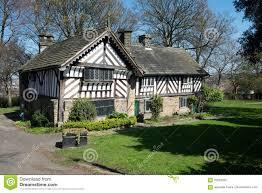 tudor period house in sheffield stock photo image 70228292