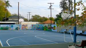 outside basketball court cost basketball courts full image for