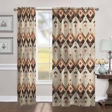 Chevron Style Curtains Lodge Style Curtains Wayfair