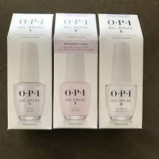 opi gel break nail system review