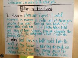 how to write a observation paper teaching inferring reading skills with picture of the day hello teaching inferring reading skills with picture of the day hello literacy