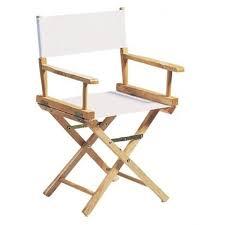 fauteuil realisateur fauteuil metteur en scène adulte chassis bois naturel