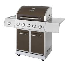 dyna glo dge530bsp d 5 burner lp gas grill with side burner