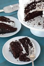 dark chocolate and vanilla bean marshmallow dream cake recipe