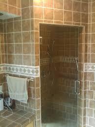 shower without door