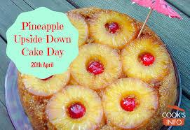 pineapple upside down cake day