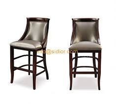 Wood Bar Chairs Cl 4402 Luxury Club Bar Furniture Solid Wood Bar Chair Wooden