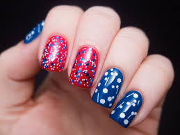 red white and awesome 4th of july nail art designs today com
