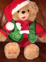 stuffed teddy bears walmart com 7 best christmas snowflakes teddy bears images on pinterest