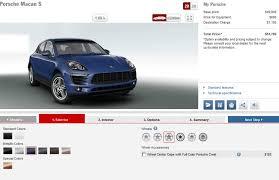 porsche macan price 2015 porsche macan pricing revealed via configurator