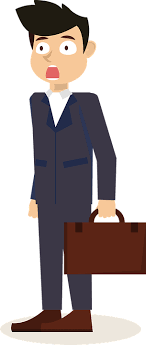 clipart uomo uomo d affari clip sorpreso ha 盞 immagini gratis su pixabay