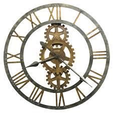nautical home decor utensils wall clock oversized wall clocks wayfair 30 crosby clock