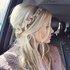 layer hair with ponytail at crown barber hairstyle blonde braids blondes and hair style